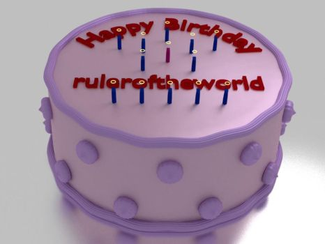 A cake for ruler by uberbucefalo