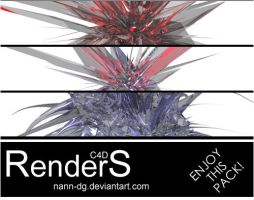 C4D Renders Pack by nann-dg
