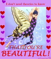 Free! Valentine: You Are Beautiful! by FrozenClaws