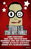 StarBoys Flyer by joliokabi