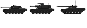 Dreadful light tank with return rollers by captainIronstar