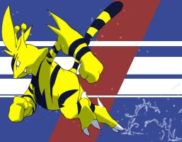 Run Electabuzz Run by gravekeeper