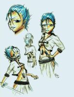 Gender Bending 1- Grimmjow J. by His-LadyAllice