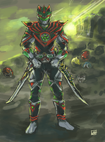 Apocalypse End Ranger by bulletproofturtleman
