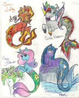 MLP Sea ponies! 2 by Coraline-176