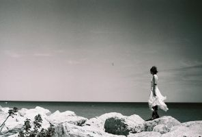 A Girl Alone by Lomo440