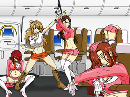 Bumpy Flight in COLOR by KO-Corral