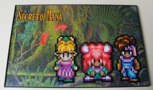Perler Secret of Mana by Dlugo1975