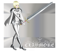 Clare - Claymore by Melee818