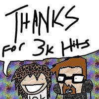 Thanks for 3000 Hits by Artist-Man