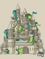 Sandcastle by recycledwax
