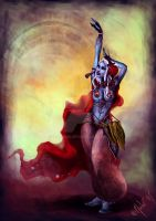 Drow Dancer by MuluC85