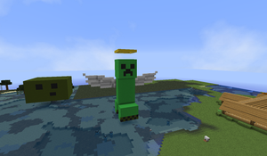 Creeper with wings :3 by Shiron95