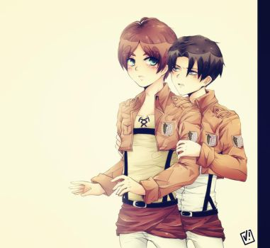 Ereri by viliann