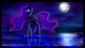 A walk down a void (Collab with Kaelee1340) by Vanessatheartperson