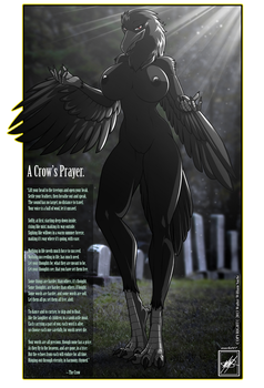 A Crow gal and A Crows Prayer completed by wsache007