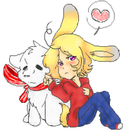 Canadian Bunnies  .:APH:. by ShiShiGirly