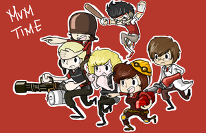 tf2 with friends by meesetrax