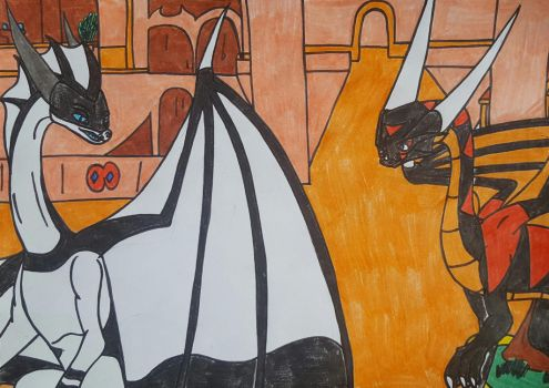 Apophis et Clyde a Dalwing by dragoonbeyblade