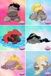 Disney Princess Pile of Rocks by kevinbolk