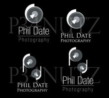 Phil Date Photography Logo by p34nutz