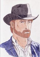 Chuck Norris by mighty-mando