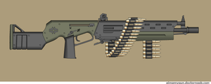 Eldritch LMG by Robbe25