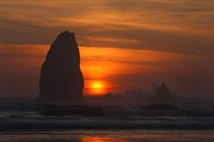 Cannon Beach - Needles by pyro303