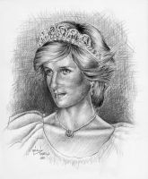 Princess Diana by Alrasam