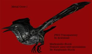 Metal Crow 1 - Jan18 08 by markopolio-stock