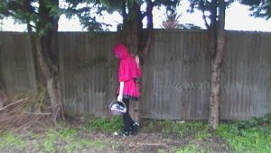 Cosplay-Lil' Red Riding Hood 4 by queenamithehedgehog