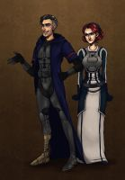 SWTOR - Icelus and Aeramis by luniara