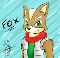 Fox McCloud by 00dastakimasu00
