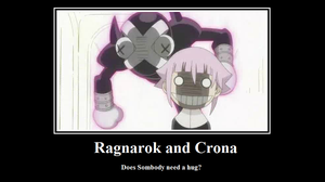 Raganarok and Crona Motivational Poster by SoulEaterRagnorok