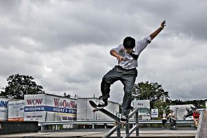 skateboarder by cannoneos
