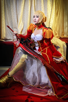 Saber Nero by jiocosplay