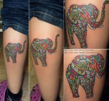 elephant by janashantal