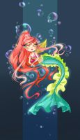 Mermaid: Coralia by fantazyme