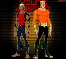 Young Justice: Aquaman and Aqualad by YorkeMaster