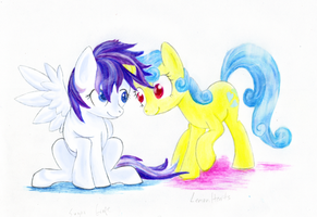Lemon Hearts and Sugar Grape by KyaiNailo