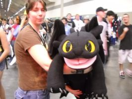Toothless Cosplay by IIRukiaKuchikiII