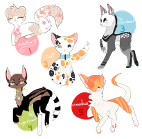 -+Warrior Cat Adopts+- by Cosmic-Fang