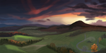 Landscape color test by demeter-luna
