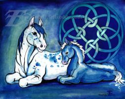 Celtic Horses by felixxkatt