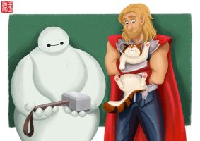 Baymax is...worthy? by TheAmateurAesthete
