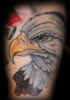 Eagle head by theJorell