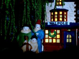 Ghostly christmas Carolers by SnuffBomb