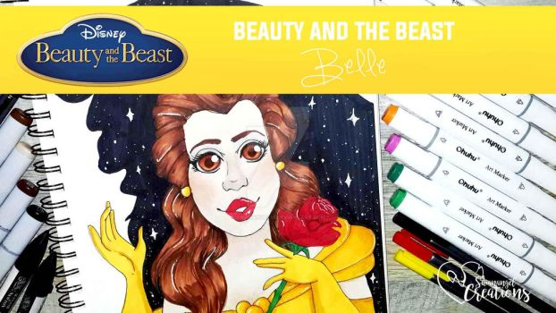 Belle from Beauty and the Beast by Swanangel15