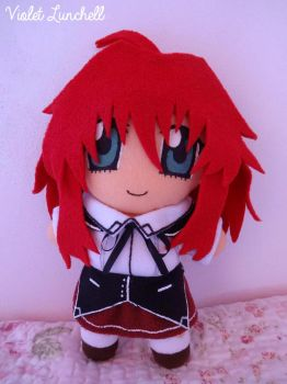 High School DxD Rias Gremory plushie by VioletLunchell