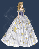 Cinderella Ball Gown Colors (Charming) by djeffers
